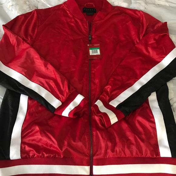 f15e0de6c02ff3 Nike Air Jordan Satin retro Jacket Men s XL New